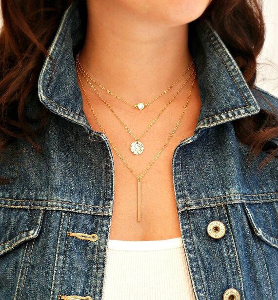 Hot Women Pendant Gold Chain Choker Chunky Statement Bib Necklace Jewelry Charm accesories for women(China (Mainland))