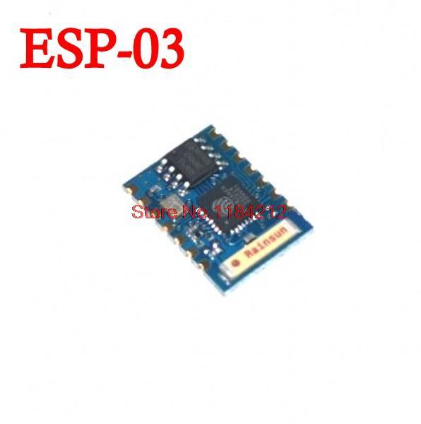 Электронные компоненты Module 20pcs/lot ESP8266 WIFI esp/03 электронные компоненты serial wifi esp8266 wifi esp 07 esp 08 esp 12