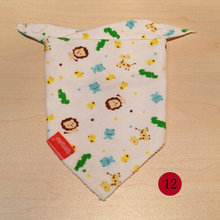 2015 New Baby Cotton Bib Infant Saliva Towels Baby Accessories Bibs Newborn Wear Cartoon Head Scarf