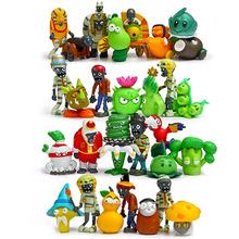 30 pcs 5cm PVC Plants vs Zombies 2 toy figuren 2016 Plants vs Zombies  toy chomper pea  sunflower Plants vs Zombies decorations(China (Mainland))