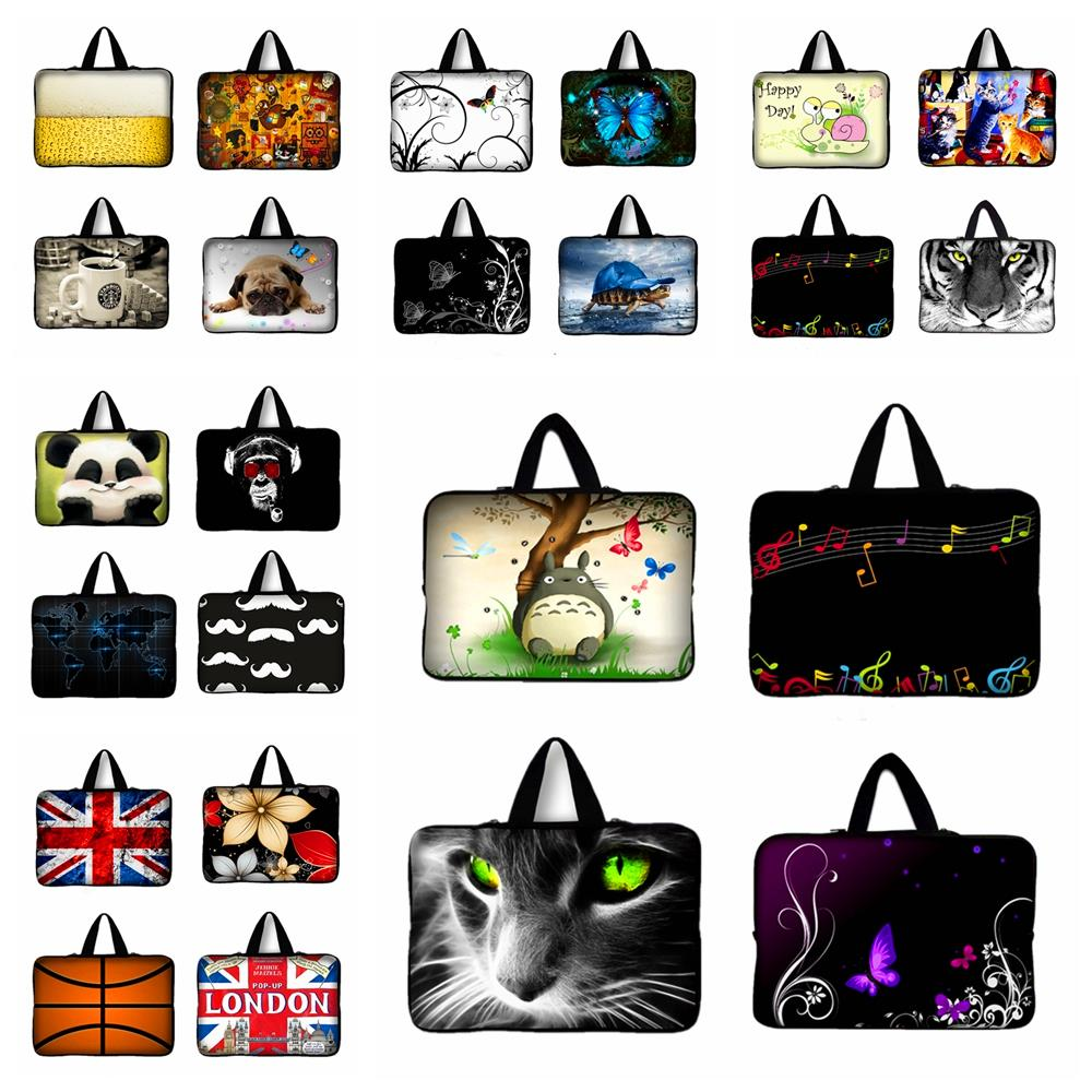 7 9.7 12 13 15 17 inch Tablet Sleeve Notebook Case Mini PC Laptop Bag 11.6 13.3 15.4 15.6 Computer Handbag Soft Protector Cover(China (Mainland))