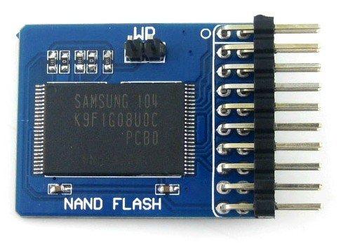 как соединить внутреннюю память с nand flash
