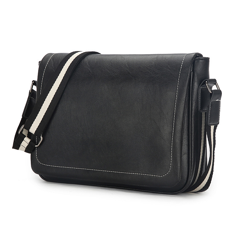 New European style men's fashion PU Leather Satchel Bag men shoulder bag crossbody bag(China (Mainland))