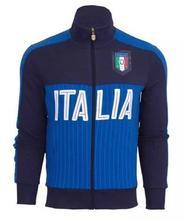 Thai 16 17 Italy euro Soccer Training jacket 2016 2017 home away football italy men Sports suit coat,Free shipping(China (Mainland))