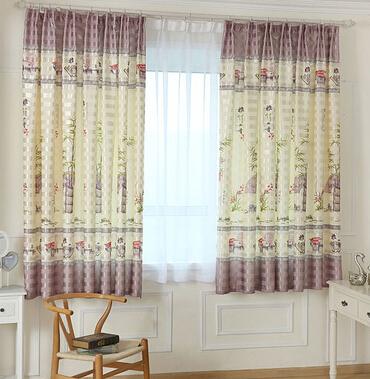 Buy 2 Metres Height Short Curtain Half Curtain Bedroom Chi