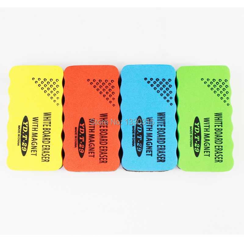 30PCS Free Shipping Hot Sale Useful Nice Magnetic Drywipe Whiteboard Eraser Cleaner k4eHQ(China (Mainland))