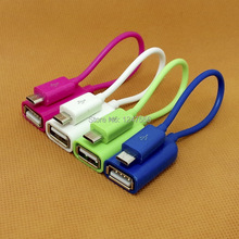 Micro USB to USB OTG Cable Adapter Connect Samsung Tab Note 2/3/4 S5 S6 Huawei P6 P7 Song Z3 Android Phone PC MP4 1Pcs Free Ship(China (Mainland))
