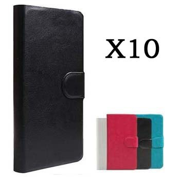 Hot Sell Original PU Leather Flip Wallet Cover Case For Sony Ericsson Xperia X10 X10i Phones Holster +Touch Pen Gift(China (Mainland))