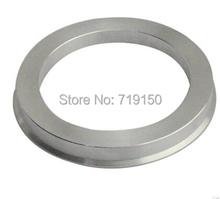 57.1-73.1mm 40 pcs/lot Aluminium Wheel Hub Centric Rings Custom Sizes Available Retail & Wholesale China Post Free Shipping(China (Mainland))