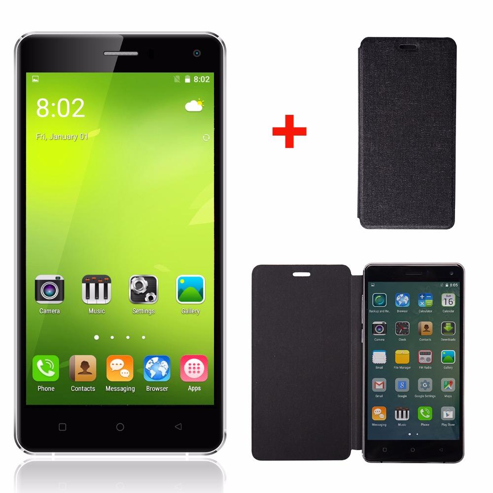 "Original Gooweel M13 smartphone 5.0"" HD Quad core android 5.1 3G mobile cell phone 1GB + 8GB GPS 8MP camera Free Flip case+ Film(China (Mainland))"