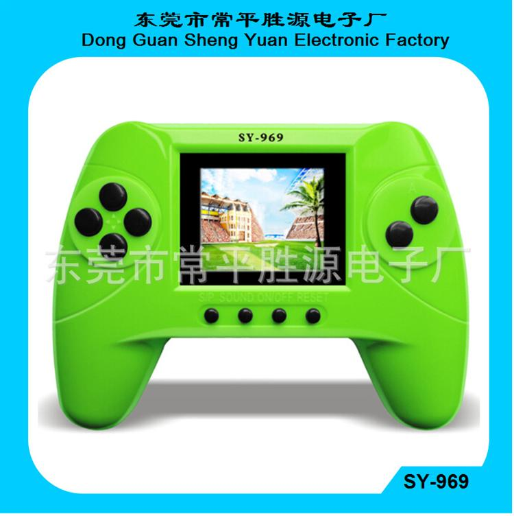 Christmas birthday gifts 1.8 inch color screen handheld Toy sy-969 228 games video game players(China (Mainland))