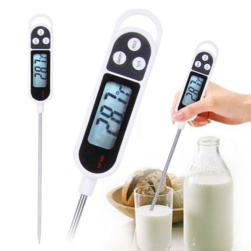 Hot Items New arrival Digital Food Thermometer BBQ Cooking Meat Hot Water Measure Probe Kitchen Tool 6RXS(China (Mainland))