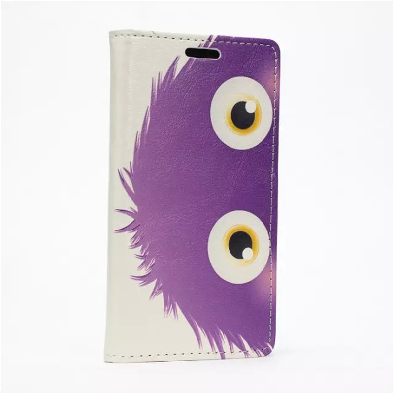 Pretty cartoon little purple hair animal large bright eye cell phone protective cover case for ASUS ZenFone girl phone jewelry(China (Mainland))
