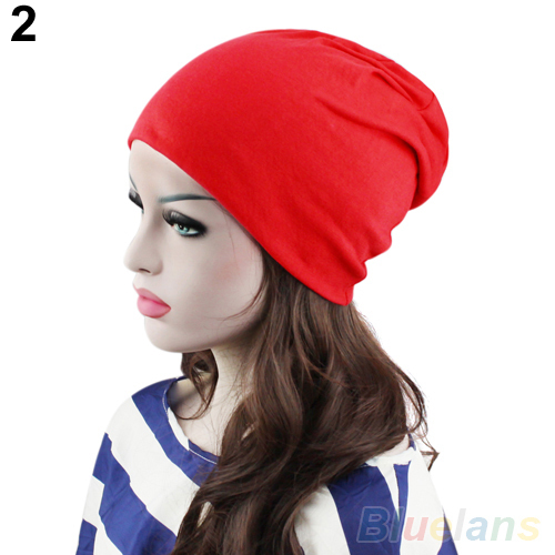 Fashion Women Men Winter Slouch Crochet Knit Hip Hop Beanie Ski Hat Cap 2K3N