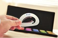 Hot 6 pcs pack Eyebrow Stencils Eyeshadow models eyeshadow auxiliary tools Tracing shadow card Draw the