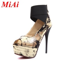 new sexy women's shoes pumps 2016 fashion red bottom high thin heels platform shoes woman wedding party shoes pumps for women(China (Mainland))