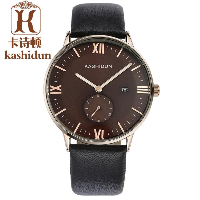 Top Brand Luxury KASHIDUN Fashion Quartz Watches Men Waterproof Sapphire Mirror Luminous Men Watch Relogios Masculino