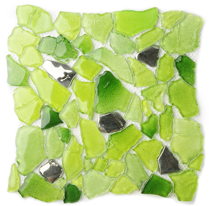 online kaufen gro handel gr n glas fliesen aus china gr n. Black Bedroom Furniture Sets. Home Design Ideas
