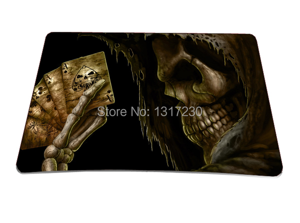 Fashion Cool Men Skull Multi-element Silicon Anti-slip Mousepad Computer Mouse Pad Mat Optical Laser Mice Trackball - Shen Zhen Waterfly Trading Company store