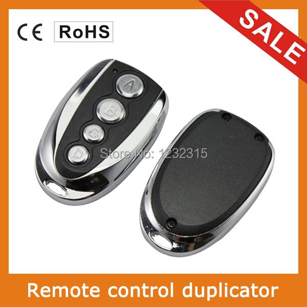 Universal Garage Door Gate Remote Control RF Remote Control Duplicator 433MHZ Free shipping(China (Mainland))