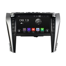 Cortex A9 HD 1024*600 Quad Core 1.6G CPU 16GB Android 5.1.1 Car DVD Player Radio GPS Navi Stereo for Toyota CAMRY 2015
