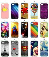 Mobile Phone Case Hot 1pc Princess Star Ballon Hybrid Design Protective White Hard Case For IPHONE 5C Free Shipping