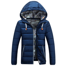 Buy 2016 winter outerwear male casual short design detachable cap wadded jacket male slim male cotton-padded jacket for $37.29 in AliExpress store