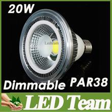 Big Discounts Par38 Led COB Spot Lights Lamp 60 Beam Angle Nature/Warm/Cool White E27 GU10 Base Support Dimmable CE&ROHS UL SAA(China (Mainland))