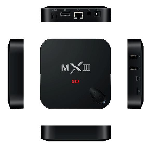 MXIII-G MXIII Plus Amlogic S812 Android 5.1 Lollipop TV BOX Quad-core Gigabit Lan 2GB/8GB 2.4/5GHz Dual WiFi BT 4.0 H.265(China (Mainland))