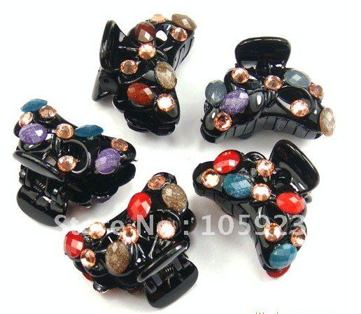 hair claw fashion hair clamps hair flower ornaments wholesale 36pcs/lot free shipping(Hong Kong)