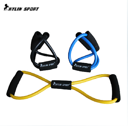 Crossfit resistance bands fitness equipment With Import Rubber resistance Training Bands Rope Tube Workout Exercise for