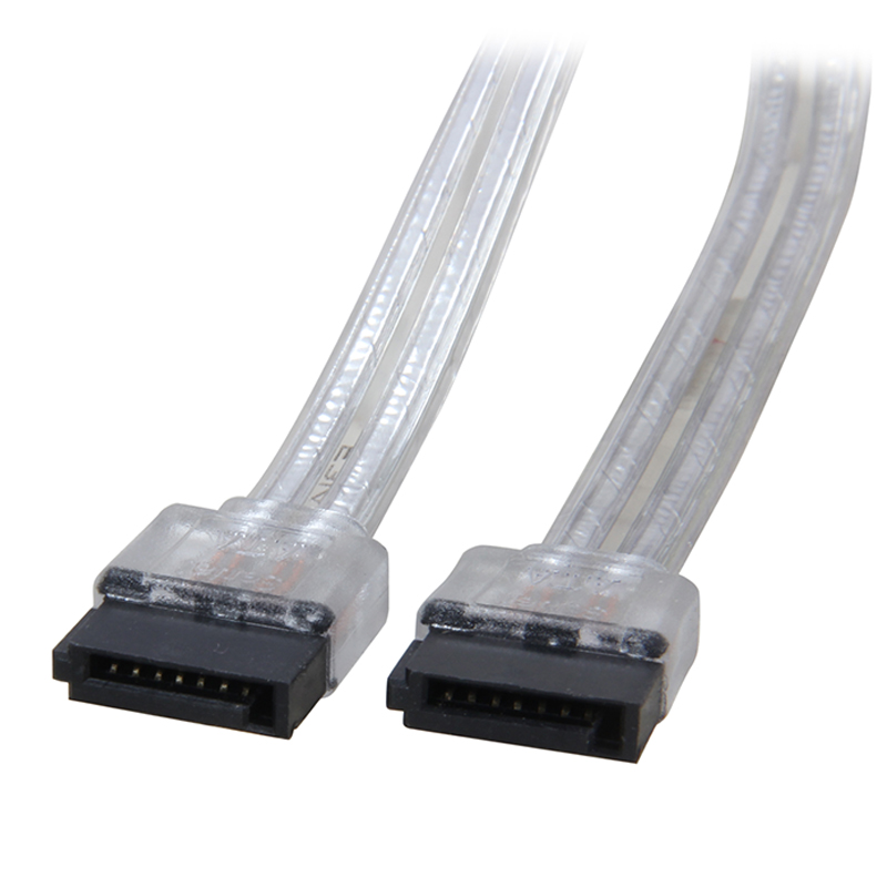 18 inches 6Gb/s SATA3 Serial ATA DATA cable for PC Computer Laptop SATA 3.0 SATAIII 6Gbps HDD Hard Drive Disk / SSD - Silver(China (Mainland))