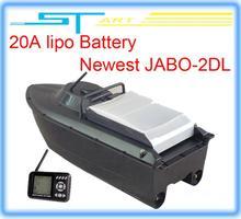 5pcs/lot JABO-2DL jabo 2DL remote control rc Bait Boat RTR With Fish Finder Backward turning Spot turning upgraded 2 hot selling(Hong Kong)