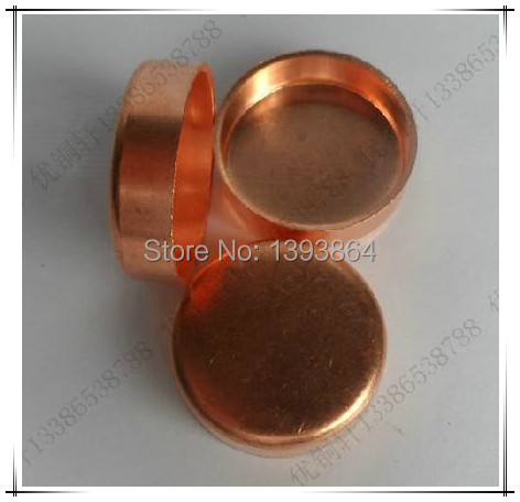 copper end cap, round end pipe cap 10mm(China (Mainland))