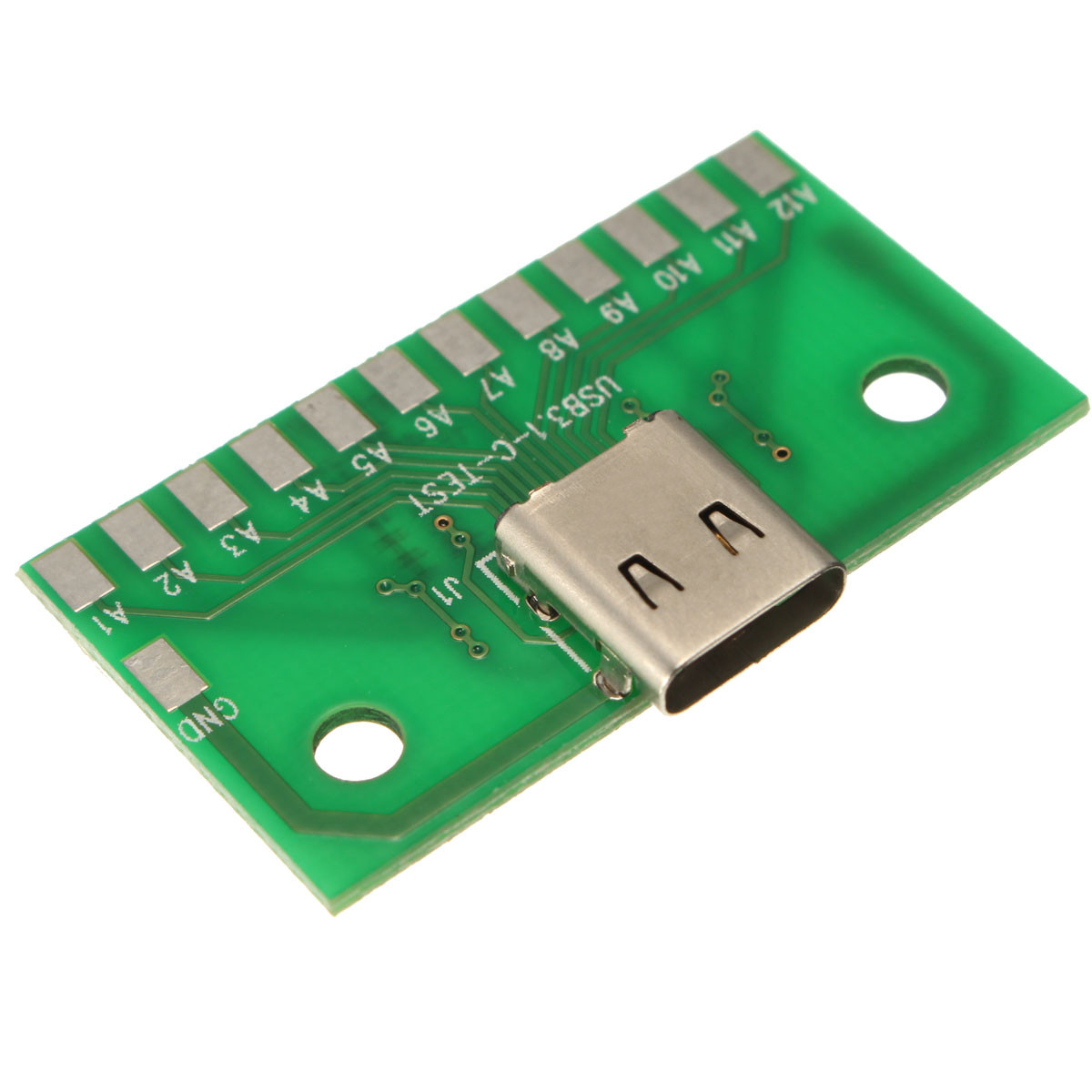 DIY USB 3.1 Type C Female Test Socket Connector PC SMT Board SMT Type(China (Mainland))