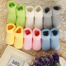 Retail 1 pairs NEW 2014  Baby boys girls cotton sock infant newborn solid socks kids accessories
