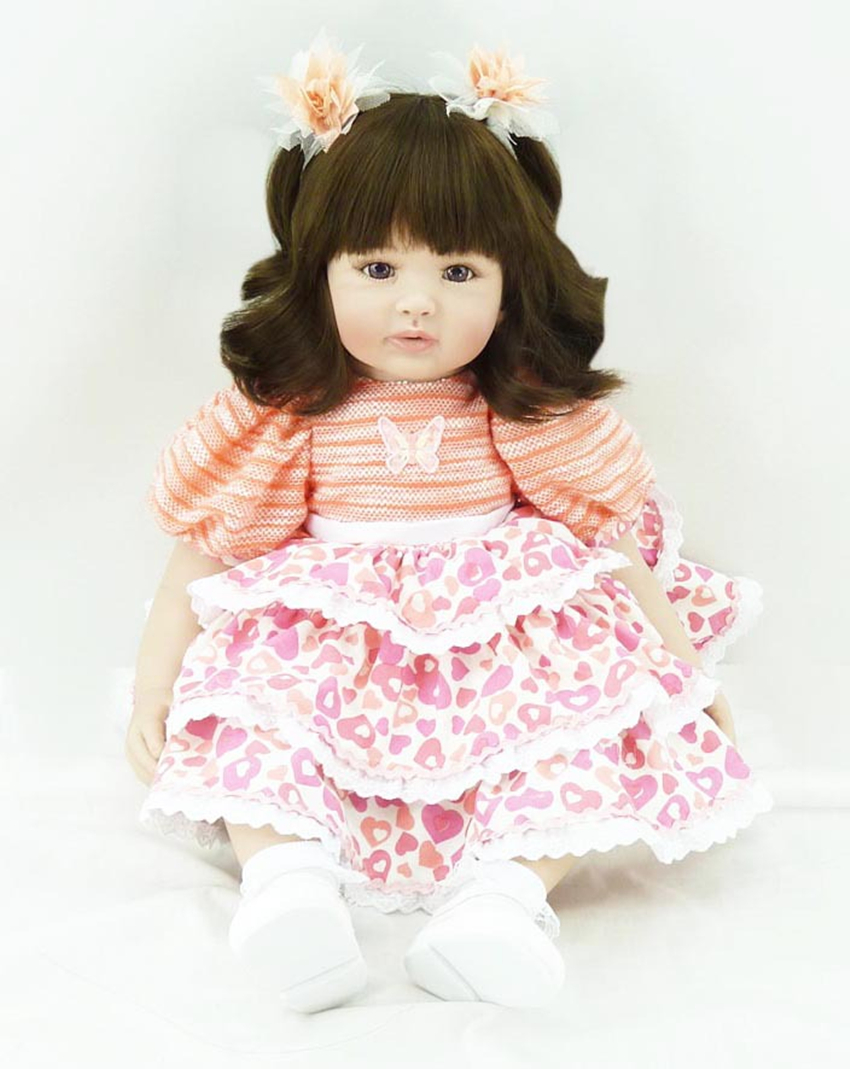 """22"""" Lifelike Adora Toddler Dolls Baby Doll That Looks Realistic & Lifelike Baby Doll Girls Baby Soft Vinyl GIFT For Ages 6+(China (Mainland))"""