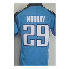 Men's #8 Marcus Mariota #29 Demarco Murray Jersey Adult Murray Light Blue Rush Limited DeMarco Jersey Embroidery Free Shipping(China (Mainland))