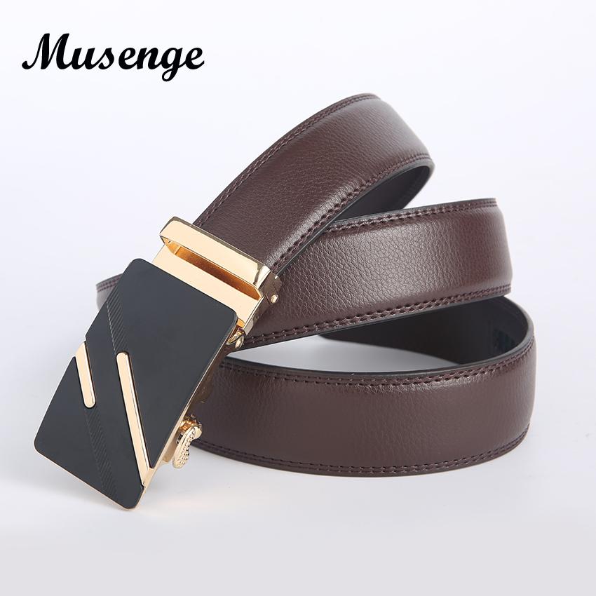 leather belt men designer belts men high quality automatic luxury