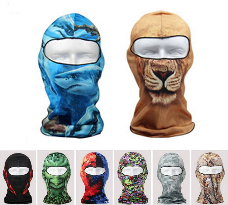 Wholesale 40pcs/Lot COOL Motorcycle Face Mask Mens Spring Sport Protective Facemasks 2015Women Autumn Camo Balaclava Skull MasksОдежда и ак�е��уары<br><br><br>Aliexpress