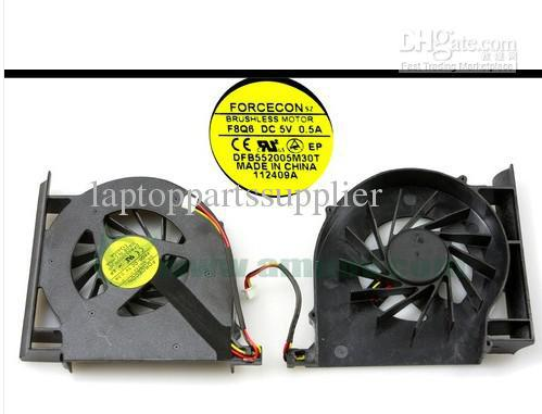 low price Original Brand new laptop Cpu cooling fan for HP CQ61 G61 CQ70 CQ71 G71 Manufacturer FORCECON DFB552005M30T F8Q6(China (Mainland))