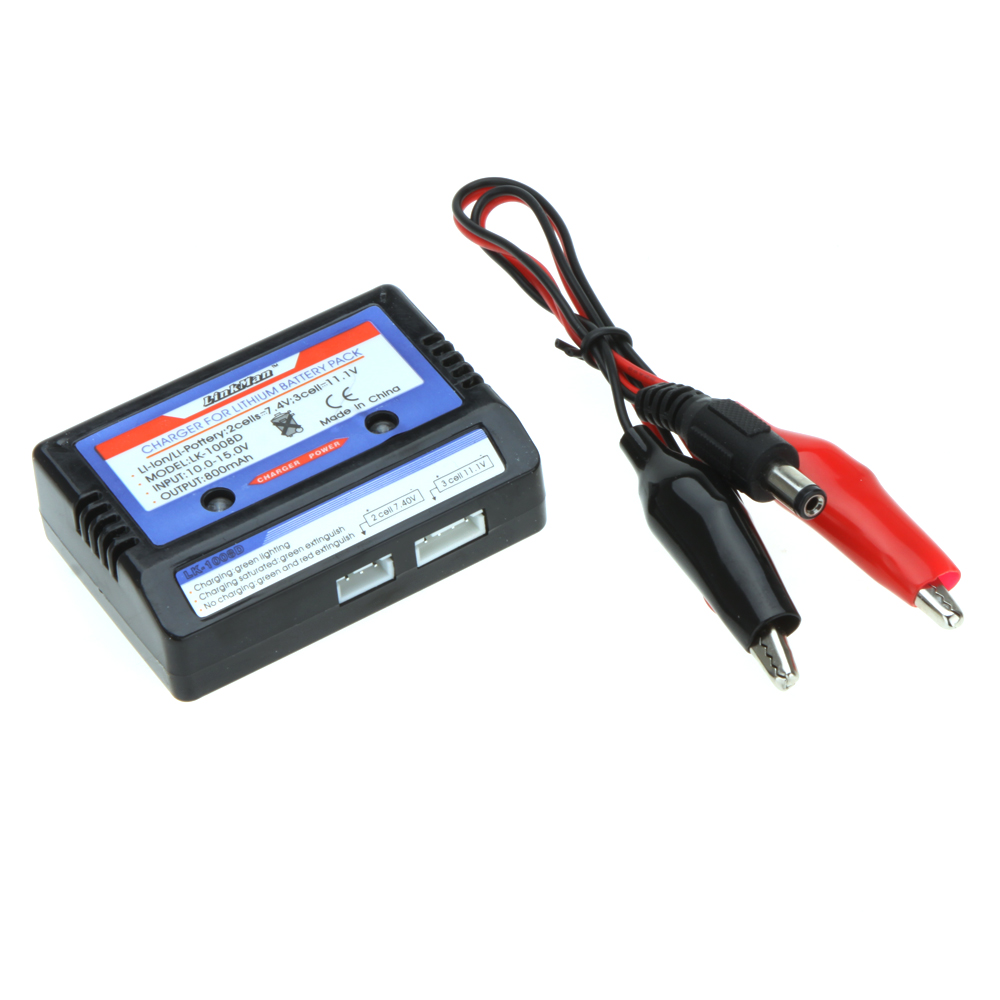 100% New Brand High Quality Linkman 7.4-11.1v Lithium Battery 2-3s Cell LiPo Balance Charger Set for RC Plane(China (Mainland))