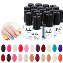 Belen 7ml Gel Polish Varnish UV LED Top Color Series UV Gel Base Top Coat UV Lamp Nail Art Design Hot Sale Nail Gel Lacquer(China (Mainland))