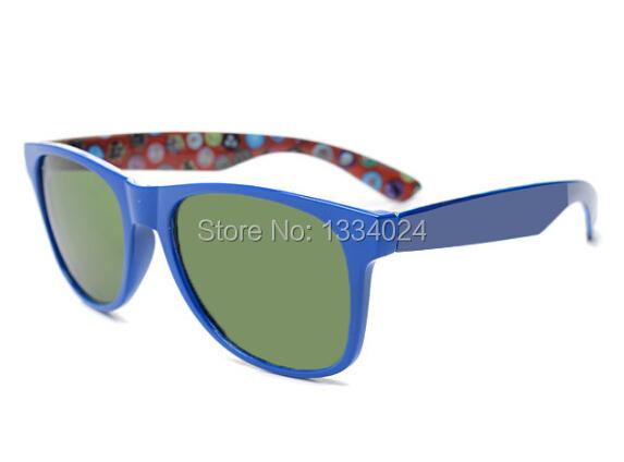 custom printed sunglasses wayfarer New Fashion With Logo leather case len cloth and box(China (Mainland))
