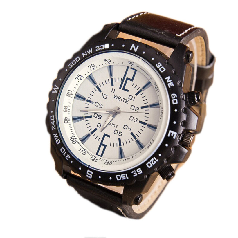 Creative 2015 Trendy Watches Men Casual Business Work Quartz Watch Charm Attractive Manly Watches