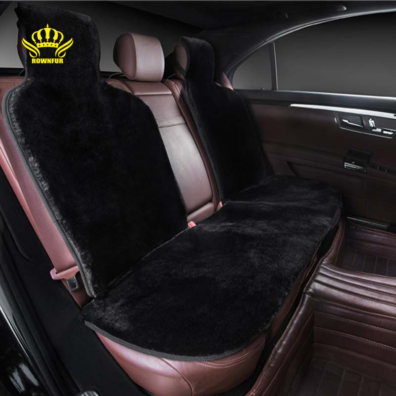 for back seat faux fur car seat cover universal size for all types of seats for car ford focus2. Black Bedroom Furniture Sets. Home Design Ideas