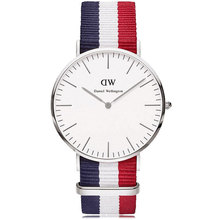 Brand Luxury Style Daniel Wellington Watches DW Watch For Men Nylon Military Quartz Wristwatch Clock Reloj hombre
