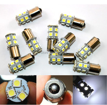 10x1156 382 BA15S p21w 1157 BAY15D p21/5w bay15d PY21W led light bulb 13 smd 5050 Brake Tail Turn Signal Light Bulb Lamp 12V red(China (Mainland))