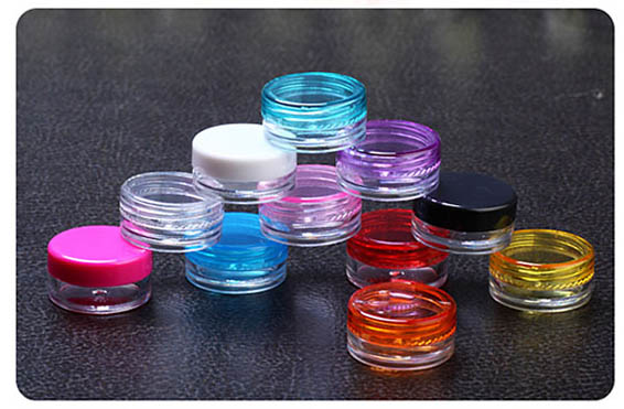 2G round cream eyeshadow container,2g mini power cream jar ,empty 2g Cosmetic Jar Cosmetic Packaging cosmetic container(China (Mainland))