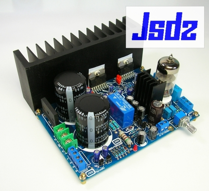 6N3 TDA7294 amplifier board DIY kit with gall push<br><br>Aliexpress